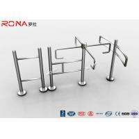 Entrance Revolving Gate Half Height Turnstiles 0.2s Opening / Closing Time Manufactures