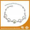 Crystal Stone Metal Chain Bracelets Bead Charm Bracelets Jewelry Manufactures
