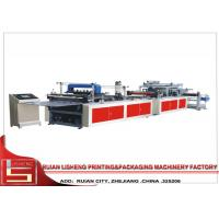 Ultrasonic non woven fabric bag making machine for T - shirt Bag , 3080Cycle / min Manufactures