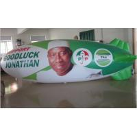 Unique Advertising Inflatable Airship Fireproof For Election Campaigns Manufactures