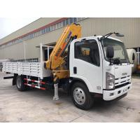 Buy cheap ISUZU Mobile Crane Truck , Mounted Crane Truck With Folded Arm XCMG Crane from wholesalers