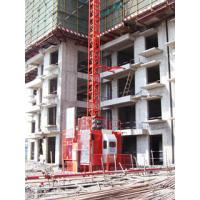 2000kg Operator Cab Construction Material Hoist with 32.7 m/min Lifting Speed Manufactures