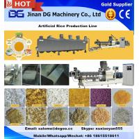 China Automatic broken rice reused Artificial/Reconstituted/Extruded/Re-produced/Manmade rice making machine production line on sale