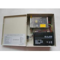 Quality Single Output CCTV 12 Volt DC 4Amp Power Supply CE / IEC High Efficiency , UPS13 for sale