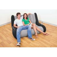 Durable Home Modern Inflatable Furniture Double Sofa For Adults / Children Manufactures