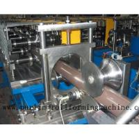 Copper Portable Downspout Roll Forming Machine , Steel Roof Gutter Making Machine Manufactures