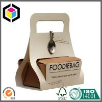 Easy Take Away Food Paper Carrier Box; Color Printing Carton Cardboard Carrier Manufactures