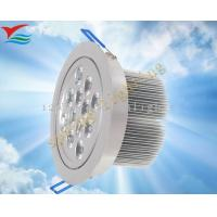 Long life span 50000 hours / AC100 - 240V / 12W / IP50 led down light fixtures Manufactures