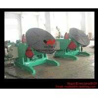 5 Ton High Speed Auto Rotary Pipe Welding Turning Table Heavy Duty For Tank / Pipe / Vessel Manufactures