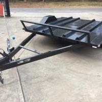 China 8x6 Motor Bike Motorcycle Utility Trailer , Easy Load Tandem Axle Utility Trailer on sale