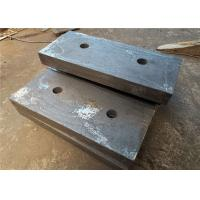 26% Cr Material Chrome Cast Iron Components Blow Bars For Impact Crusher Machines Manufactures