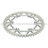 Quality Rear Wheel Custom Motorcycle Sprockets For CNC Aluminum Motorcycle Parts for sale