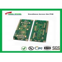Hard Drive Bare Quick Turn Printed Circuit Boards With 2l Fr4 Material 0.8mm Flash Gold 1oz Manufactures