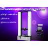 Two Columns Universal Testing Machine , 50KN Textile Testing Machine Computer Control Manufactures