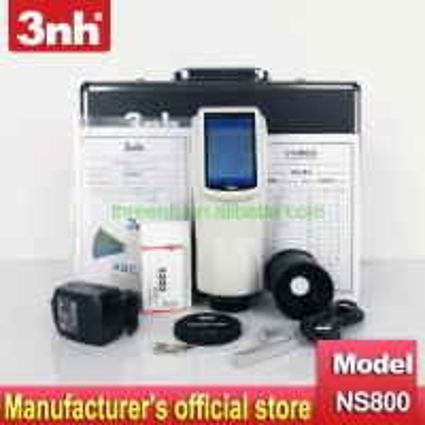 Color Spectrophotometer 3NH NS800 Reflectance rate color management for color control 45/0 geometry spectrophotometer