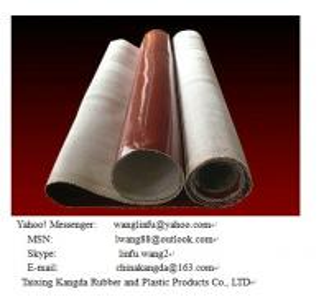 Quality silicone fiberglass fabric for sale