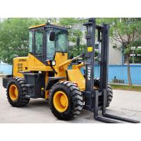 4WD 2 Ton Atv Mini Rough Terrain Forklift Machine With CE | ISO Certification Manufactures