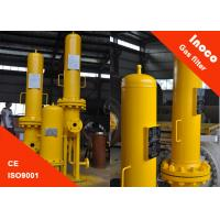BOCIN High Efficiency Fuel Gas Filters Separator / Stainless Steel Air Filter Housing Manufactures