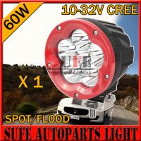 NEW 6 INCH 60w LED Driving Light CREE For 4x4 jeep truck tractor offroad working headlight Manufactures
