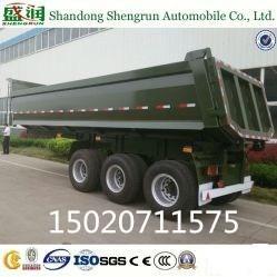 Shengrun 3axle Dump Trailer/ Hydraulic Rear Tipping Trailer Manufactures