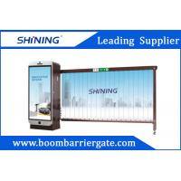 Smart RFID Reader Entrence Advertising Barriers 3.2m With CE Certificated Manufactures
