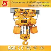 Electric lifting 10 ton chain hoist Manufactures