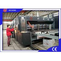 Automatic Computer Controlled Die Cutter 4 Color Flexo Printing For Carton Manufactures