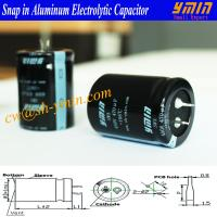 450V 470uF Capacitor 105C 3000 Hours Snap in Electrolytic Capacitor for Wind Turbine Power Inverter and AC Wave Inverter Manufactures