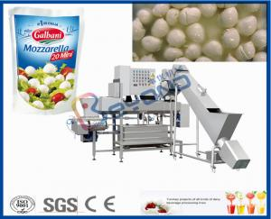 Ellipse  2000L SUS304 Cheese Vat Making Equipment With PU Insulation Manufactures