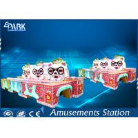 Lovely Panda Amusement Game Machines Ball Shooting Win Prize Multiple People Manufactures
