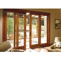 Hospital Aluminum Patio Sliding Doors , Sliding Glass Patio Doors With Tempered Glass Manufactures
