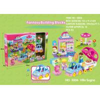 Fire Station Building Blocks Educational Toys W / Functions For Age 3 Years Kids for sale