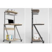 Home Double Deck Mobile Simple Computer Desk Modern Small Apartment 70cm Manufactures
