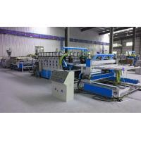 Fully Automatic Plastic Sheet Making Machine / PVC Foam Plate Making Machine Manufactures