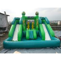 CE Certificates Inflatable Water Slide PVC Tarpaulin Material For Outdoor Games Manufactures