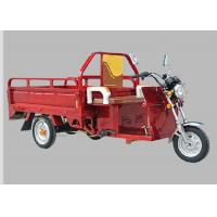 Cargo Carriage Electric Three Wheel Motorcycle 48V 800W Motor 120AH Battery Manufactures