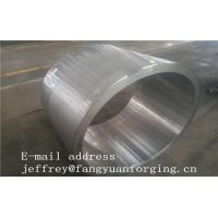 JIS EN ASME ASTM Hydraulic Cylinder Bushing Sleeve Forged C45 4130 4140 42CrMo4 4340 Rough Machined And UT Manufactures