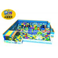 Customized Theme Kids Indoor Soft Playground Games Amunment Park for mall Manufactures