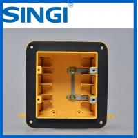 Quality Two gang ul certificate plastic outlet electrical wiring boxes with covers for sale