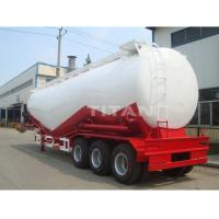 China TITAN  Dry Bulk Cement Powder Tanker Semi Trailer With Engine for sale on sale