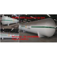 best price ASME standard 80,000Liters lpg gas storage tank for sale, factory direct sale ASME propane gas storage tank Manufactures
