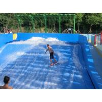Quality Adults Surfing Skateboard Equipment / Fiberglass Wave Surfing Machine for sale