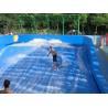 Water Park Surfing Skateboard Equipment Fiberglass Flowrider With Wave Surfing Machine Manufactures