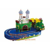 Quality Europe Family Entertainment Center Castle Train Small Carousel for Sale from for sale