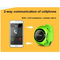 Multi function smart children GPS watch cellphone gps tracker with SOS and alarm can call Manufactures