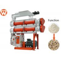 Livestock Farm Feed Mill Pellet Machine / 10T/H 110Kw Animal Feed Processing Machine Manufactures