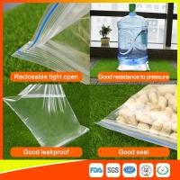 Quality Customized Packing Ziplock Bags LDPE Poly Bags Food Packaging Clear Grip Seal for sale