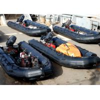 Quality Military PVC 4.3m Hard Bottom Inflatable Boats With CE Approved for sale