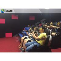 Ingenious Simulating Game 7D Movie Theater For Theme park / Exhibition Hall Manufactures