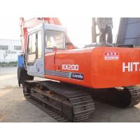 Hitachi EX200 20 Tonne Used Crawler Excavator Japan 92% UC 8100 Working Hours Manufactures